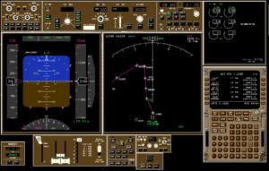 Emulated Flight Displays